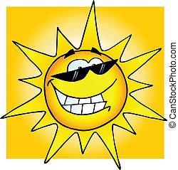 sunglasses, smile sol