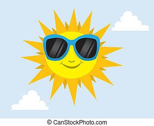 sunglasses, sol