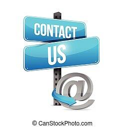 symbol, kontakt, online, os, tegn