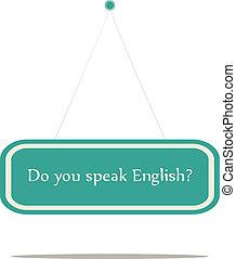 tal, du, english?
