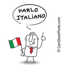 tal, italiensk