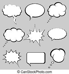 tanke, bobler, tale