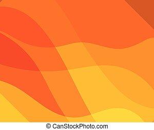 tekstur, baggrund, dynamik, appelsin