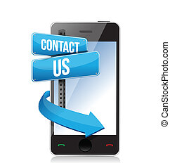 telefon, kontakt os, tegn