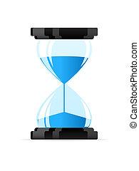 timeglas, ikon