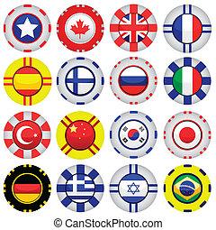tokens, kasino, flag