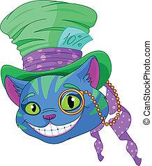 top, cheshire, hat, kat