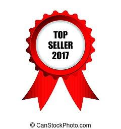 top, emblem, 2017, sælger
