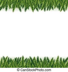 træ branches, jul
