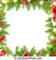 træ, jul, grænse