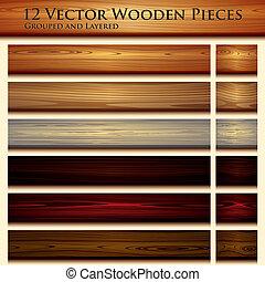 træagtig tekstur, baggrund, illustration, seamless