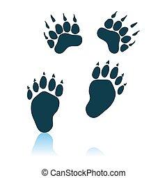 trails, bjørn, ikon