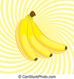 tre, banan