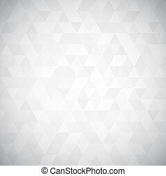 trekant, pixel, mosaik, digitale