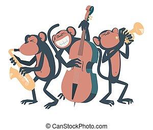 trio., jazz, abe