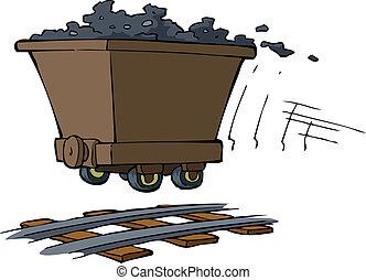 trolley, ore