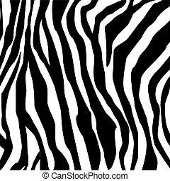 tryk, zebra