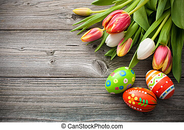tulipaner, åg, påske