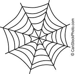 væv, kunst, edderkop