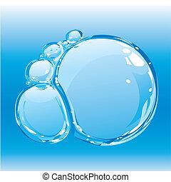 vand, bobler