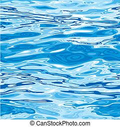 vand mønster, seamless, overflade