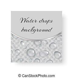 vand slipper, baggrund