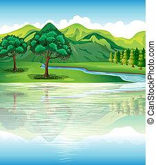 vand, vore, land, naturlige ressourcer