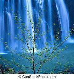 vandfald