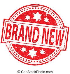 varemærke, frimærke, nye