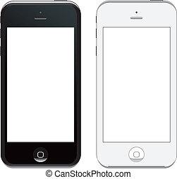 vektor, 5, iphone