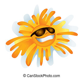 vektor, solfyldt, :)
