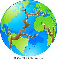verden, begreb, krise