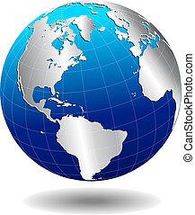 verden, globale, nord syd, amerika