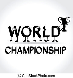 verden, symbol, mesterskab