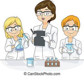 videnskab eksperimenter