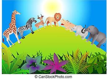 vildt dyr