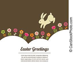 vinhøst, firmanavnet, påske, hilsen card