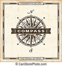 vinhøst, kompas, etikette