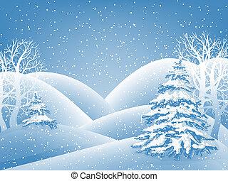 vinter, baggrund