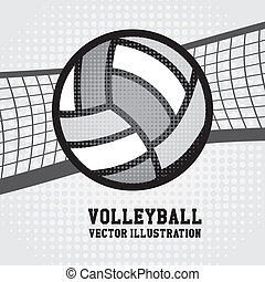 volleyball, konstruktion