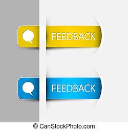 (web), feedback, etiketter, /, udkant, stickers, side