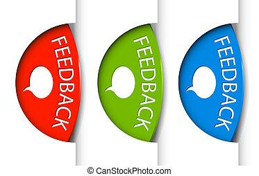(web), feedback, notaer, side, udkant, omkring