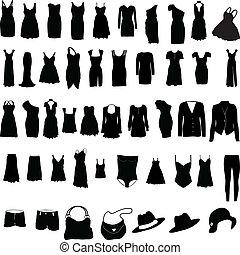 womens, beklæde, diverse, silho