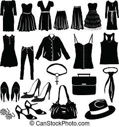 womens, beklæde, diverse