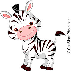 zebra, morskab, zoo.